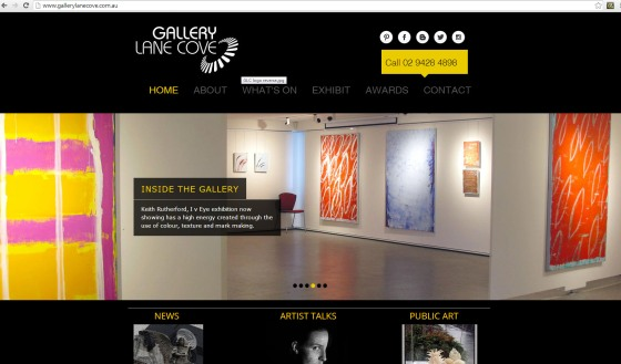 gallery lane cove website